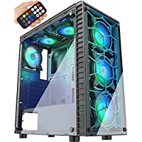 MUSETEX Phantom Black ATX Mid-Tower Case with USB 3.0