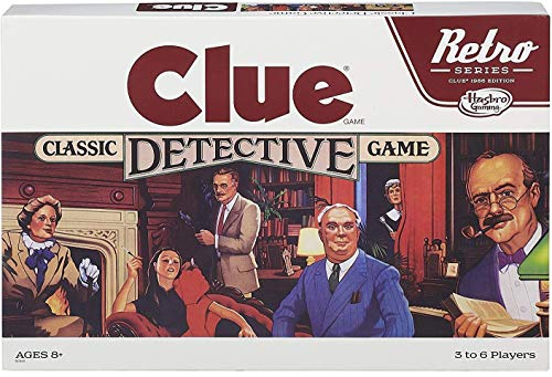 Retro Series Clue 1986 Edition Game