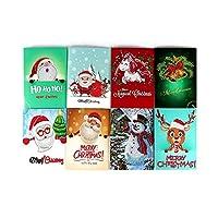 クリスマスカード 5DDIY絵画クリスマスカードハロウィーンクリスマス誕生日グリーティングカード封筒とツール付きアートクラフト手作りギフト トクリスマス (Size:18 X 13cm; Color:1)
