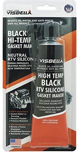 Visbella Silicona negra de alta temperatura fabricante de juntas