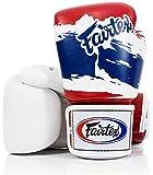 Fairtex Muay Thai guantes de boxeo, bgv1- tailandés orgullo (edición limitada), tamaño: 10-16Oz....