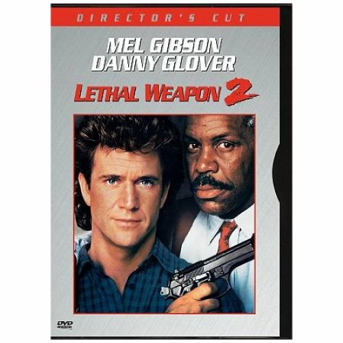LETHAL WEAPON 2 MEL GIBSON, DANNY MOVIE