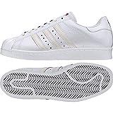 adidas Superstar 80s CNY, Chaussures de Fitness Homme, Blanc (Ftwbla/Ftwbla/Escarl...