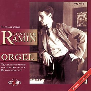 Thomaskantor Günther Ramin - Historische Originalaufnahmen des Deutschen Rundfunkarchivs (Schuke-Orgel, Wien - Sauer-Orgel, Thomaskirche, Leipzig)