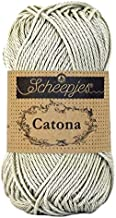 scheepjes catona 4 ply mercerized cotton yarn