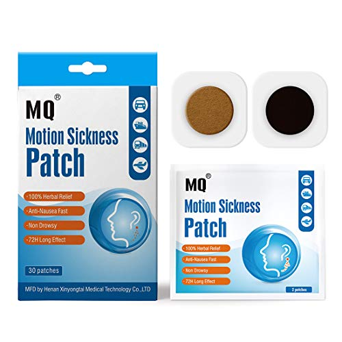 MQ Motion Sickness Patch, 30 Count