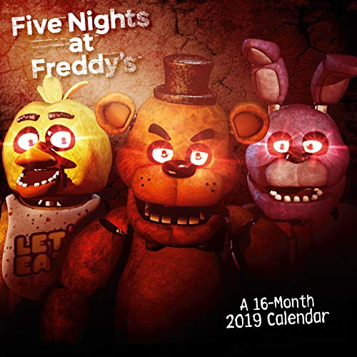 Five Nights at Freddys Official 2019 Calendar - Square Wall Calendar Format