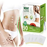 (90 PCS) Weight Loss Sticker, Slimming Quickly for Beer Belly, Buckets Waist, Waist Abdominal Fat, Burn Fat and Restore Slim Sticker