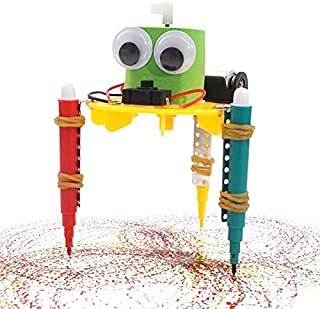 STEM Doodling Drawing Robot Toy Experiment Kit for Project build Innovative thinking in child, Educational Play Set & Birt...