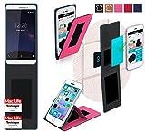 Hülle für Coolpad Porto S Tasche Cover Case Bumper   Pink