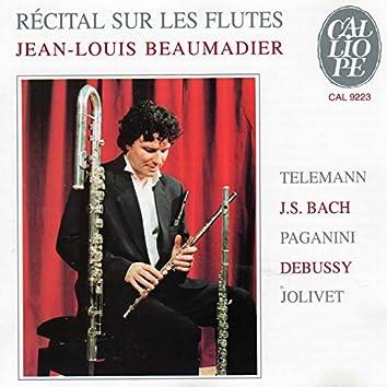 Récital sur les flûtes