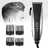 LKITYGF Multa 9 en 1 Profesional Product Product PRODUCTOR Set Hombres Trimmer de Barba Trimmer Cabello Recortador Recargable Recortador de Cabello Recortador para peluqueros y estilistas