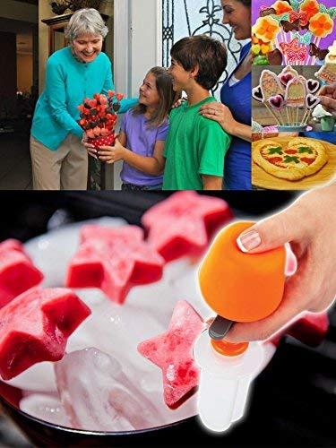 Uteruik - Moldeador de Fruta para Cortar ensaladas de Frutas, Frutas, Frutas, Frutas, Manualidades, Pasteles, Utensilios de Cocina, Accesorios de Cocina, Suministros y Productos, Cortador de Fruta