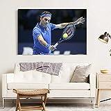 nr Roger Federer Schweizer Tennis Poster und Drucke,