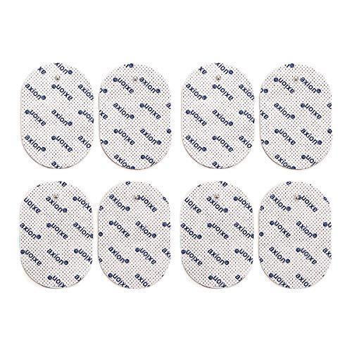 8er Set ovale Elektroden-Pads - passend für EMS- & TENS-Geräten von Panasonic