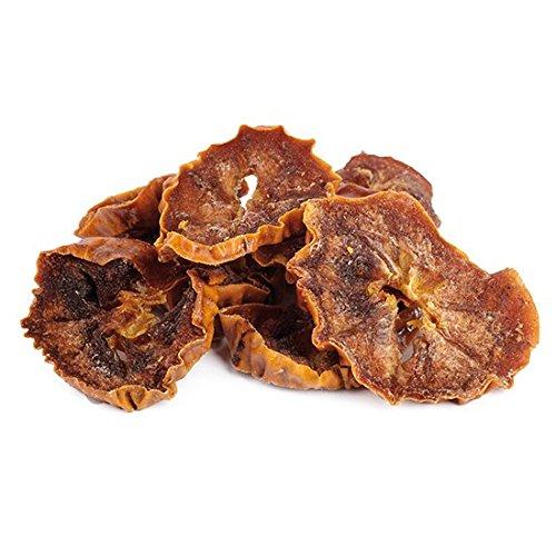 Bio Kaki getrocknet 1 kg Kaki Persimonen Scheiben, ungesüßt, ungeschwefelt, Rohkost extra weich und von Natur aus süß, dunkel 1000g