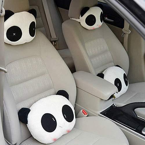YSHtanj Autositz-Accessoires Kissen Lovely Creative Panda Auto Auto Nackenstütze Kissen Kissen Matte