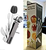 Quench Bar10der Ultimate Cocktail 10 Tools in One Gray All Essentials+Guide NIB#from__fresh_n_beautiful GERHJT129714