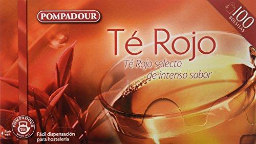 Pompadour Té Rojo - 100 bolsitas