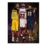 FBART MVP of Basketball Game Poster, Affiche NBA Legends