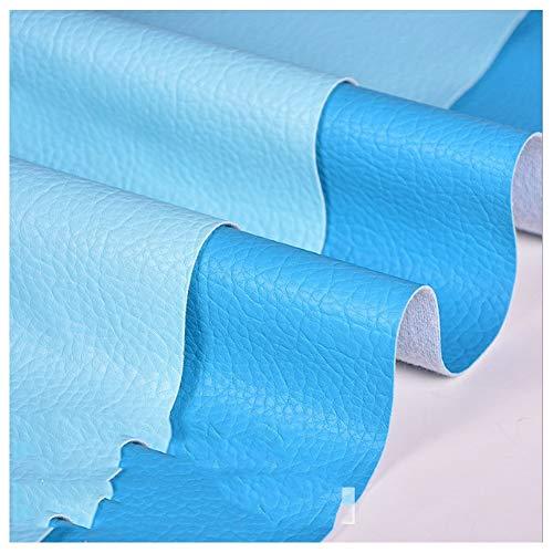Tissu Simili Cuir Tissu en Simili Cuir Sac Dur Matériel en Cuir PU Sac Souple Tissu en Cuir Canapé Tissu Fait À la Main Bricolage Motif Litchi Simili Cuir Chevet Cuir Artificiel Largeur 138 Cm