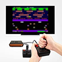 Atari 7A5-4CA-54B Flashback X Retro Console 110 Built-in Games-2 Wired Controllers-HD HDMI-Plug n Play, Multi
