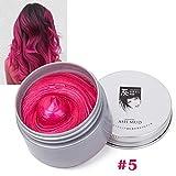 KISSION 7 Couleur Temporaire des Cheveux Colorant Crème DIY Cheveux Couleur Des Cheveux Modélisation De Mode Style outils