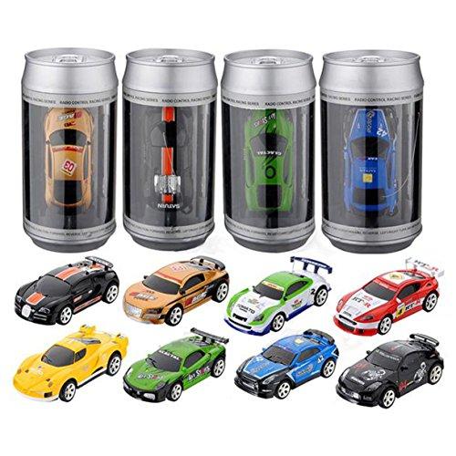 Auto Fernbedienung - SODIAL(R)Mini Koks Funk Fernbedienung RC Micro Racing Auto Geburtstag Geschenk Spielzeug zufaellig Farbe