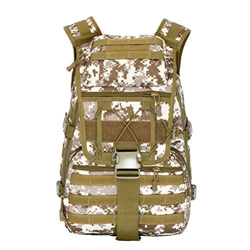 OYHN Camouflage de Sports de Plein air en Plein air Sac à Dos Multifonctionnel armée Fan Sac de Trekking Sac à Dos Tactique 3P Sac à Dos, B
