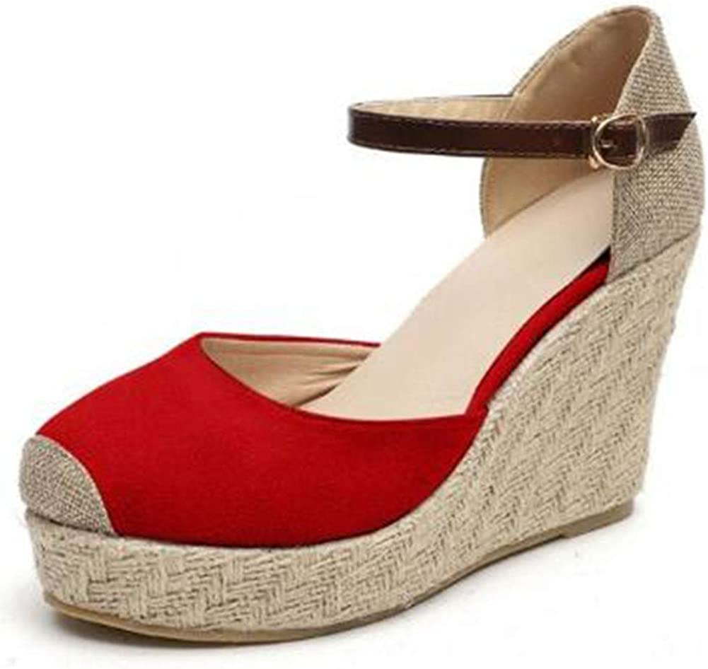 Platform Sandals for Women Closed Toe Ankle Sum High sold out Heel Lowest price challenge Strap