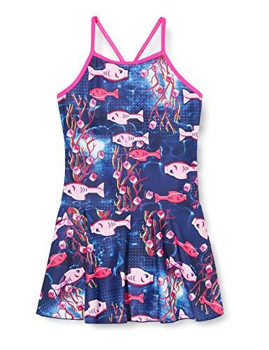 Lego Wear Mädchen Lwandrea Uv Lsf 50 Plus Badeanzug, Mehrfarbig (Dark Pink 474), (Herstellergröße: 134)