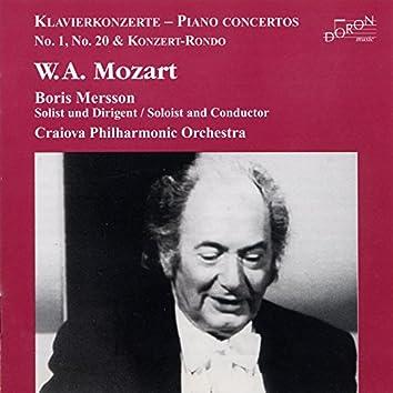 Mozart: Piano Concerto Nos. 20, 28 & 3 Piano Concertos After J. C. Bach
