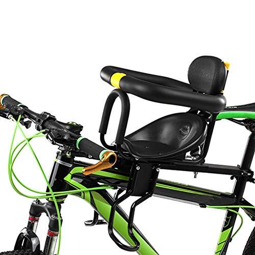 GPWDSN volledige fietszitje voor kinderfiets, veiligheidsontwerp voor baby's, verstelbare zitting van de pedaal, snel los te maken