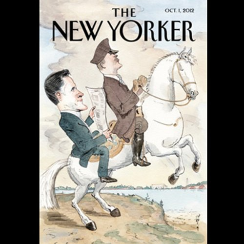 The New Yorker, October 1st 2012 (Nicholas Lemann, Ian Parker, Emily Nussbaum)                   By:                                                                                                                                 Nicholas Lemann,                                                                                        Ian Parker,                                                                                        Emily Nussbaum                               Narrated by:                                                                                                                                 Dan Bernard,                                                                                        Christine Marshall                      Length: 2 hrs and 17 mins     Not rated yet     Overall 0.0