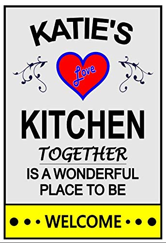Katie's Love Refrigerator Kitchen Magnet. Customize name any for Max 47% OFF Discount mail order