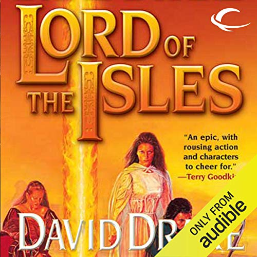 Lord of the Isles audiobook cover art