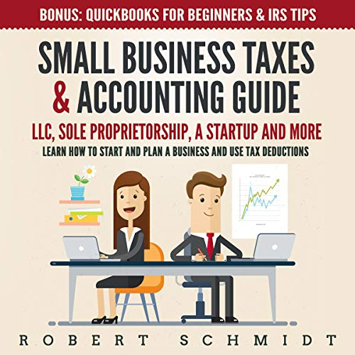 Small Business Taxes & Accounting Guide audiobook cover art