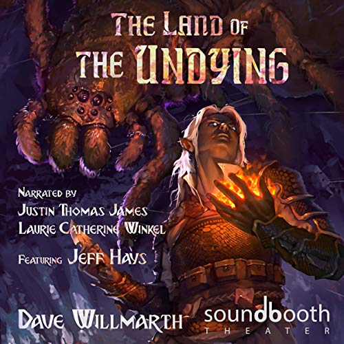The Land of the Undying audiobook cover art