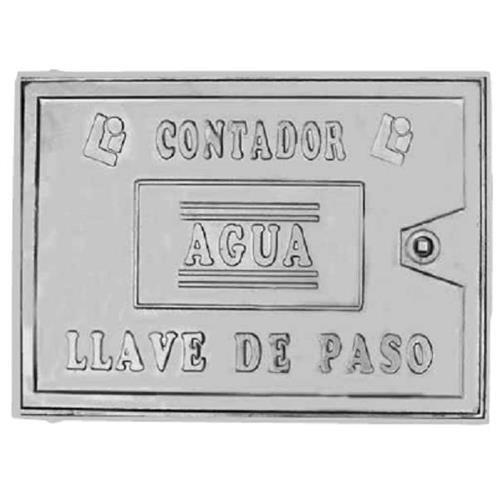 Fundicion Lopez Iniesta - Tapa Contador Aluminio 300X400