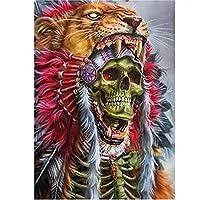 500ピースパズル部族装飾スカルレジャータイムホームデコレーションクリエイティブアート38 * 52cm