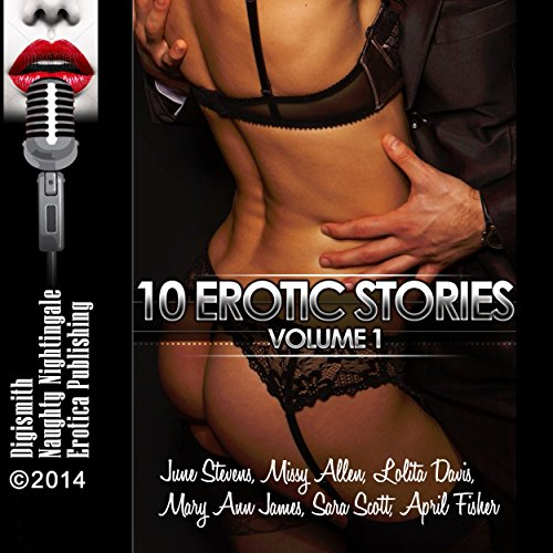 10 Erotic Stories Volume 1 audiobook cover art