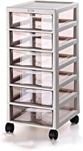 Office Supplies Wheels Home Bedroom Office Furniture Storage Unit Cupboard Plastic Strong Collision Resistance Organizatio...
