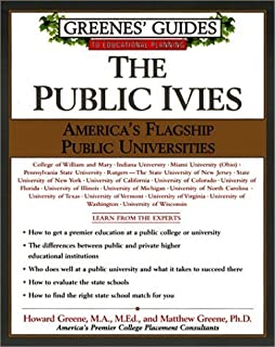 The Public Ivies: America's Flagship Public Universities Paperback July 24, 2001