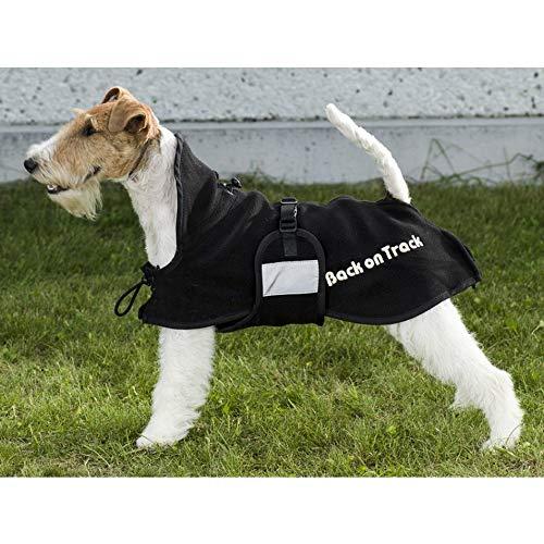 Back on Track Hundefleecemantel Supreme Fleecedecke für Hunde Größe wählbar (74 cm)