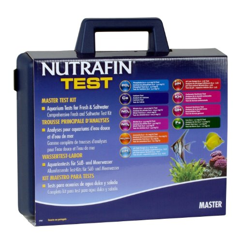 Nutrafin Master Test Kit, Contains 10 Test Parameters