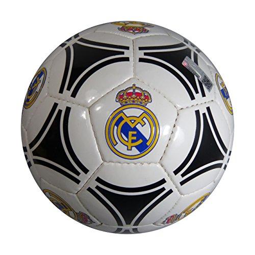 Balón Futbol Oficial REAL MADRID Circulos Negro