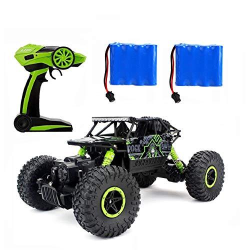 Ferngesteuertes Autos,RC Auto Rock Crawler,1:18 Ferngesteuertes Monstertruck,4WD Elektrisches Offroad Fahrzeug (Grün)*