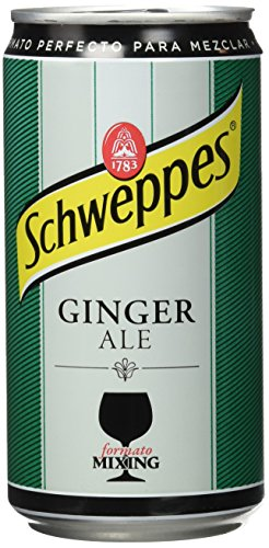 Schweppes Ginger Ale Bebida Refrescante - 250 ml