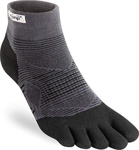 Injinji 2.0 Calcetines ligeros para hombre, talla pequeña, color negro