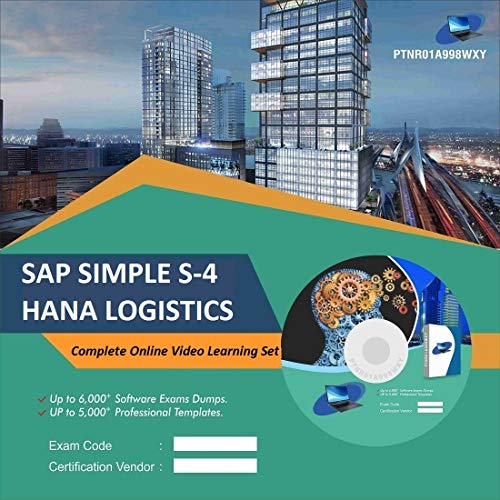 SAP SIMPLE S-4 HANA LOGISTICS Complete Video Learning Solution Set (DVD)